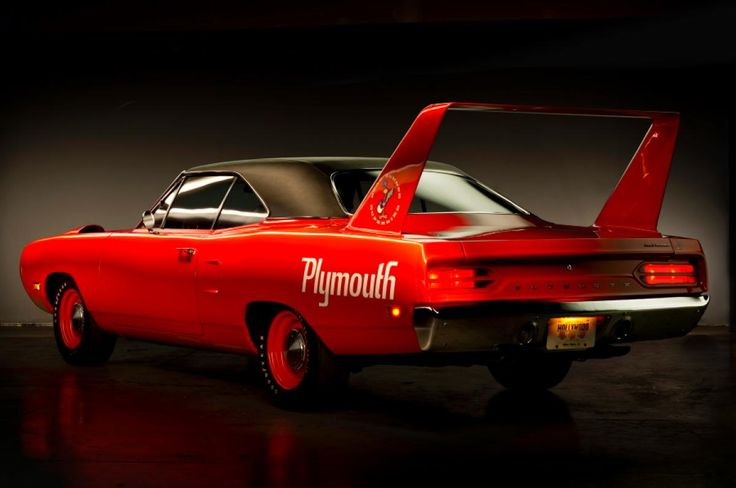 1970 Superbird While collectors love them now, when they were new the Plymouth Road Runner sold so poorly dealers removed the rear wing and aerodynamic nose cone simply to get them off their lots