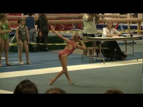 ▶ MIKAYLA LEVEL 8 GYMNASTICS FLOOR ROUTINE - YouTube
