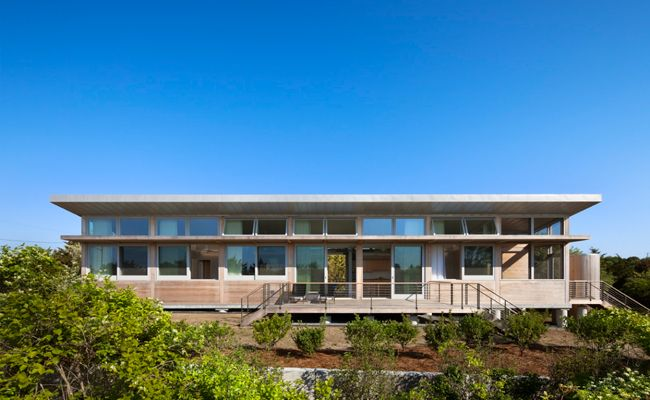 Amagansett House Francois de Menil Architects