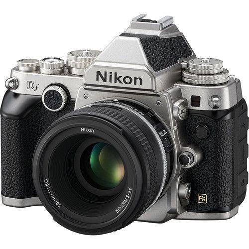 Nikon Df Camera with 50mm f/1.8 Lens (Silver) Nikon Df at B&H Photo | B&H Photo Video