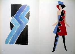 Image result for sonia delaunay fashion designs