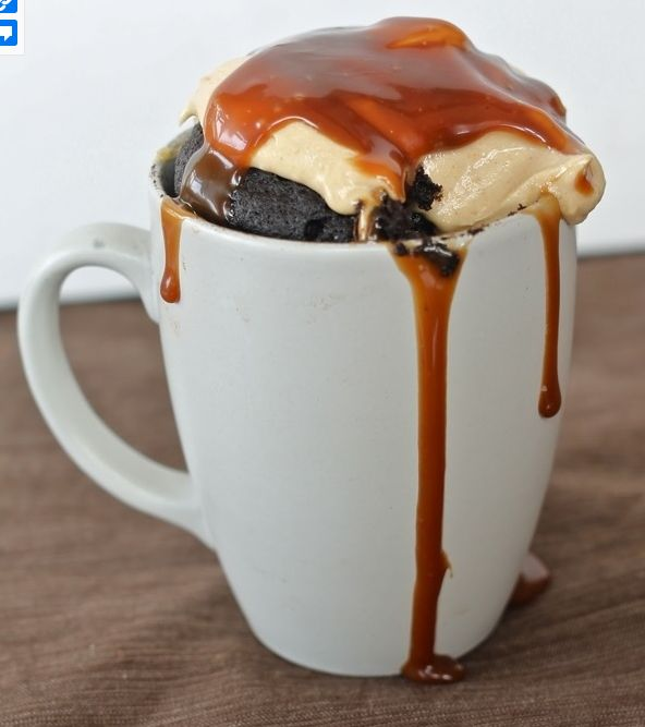 18 microwave-in-a-mug recipes.... The cinnamon roll is amazing!