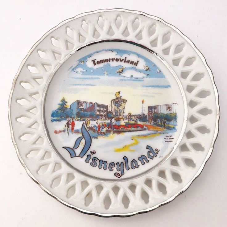 Vintage Disneyland Tomorrowland Collectible Plate Eleanore Welborn USA Rare  #ebayseller #rarecollectible #Disneyland #Tomorrowland #midcentury #vintage #collectibleplate  #forsale #lilsforgetmenots #freeship https://www.ebay.com/itm/202056183566?ul_noapp=true&utm_content=buffer477e9&utm_medium=social&utm_source=pinterest.com&utm_campaign=buffer