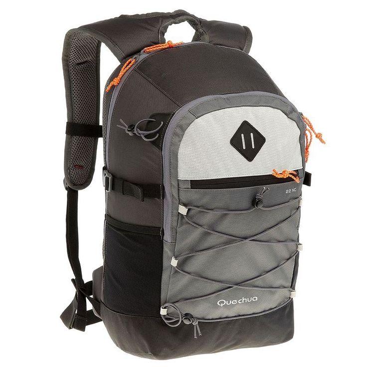 Zaini Montagna, Trekking - Zaino montagna ESCAPE 22 XC grigio QUECHUA…