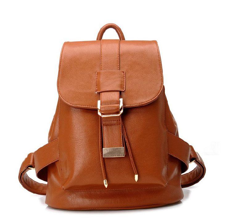 Новая мода женщин кожаный рюкзак, школьные рюкзаки для девочек, кожа школьный для студентов, мода школьные сумки для девочек