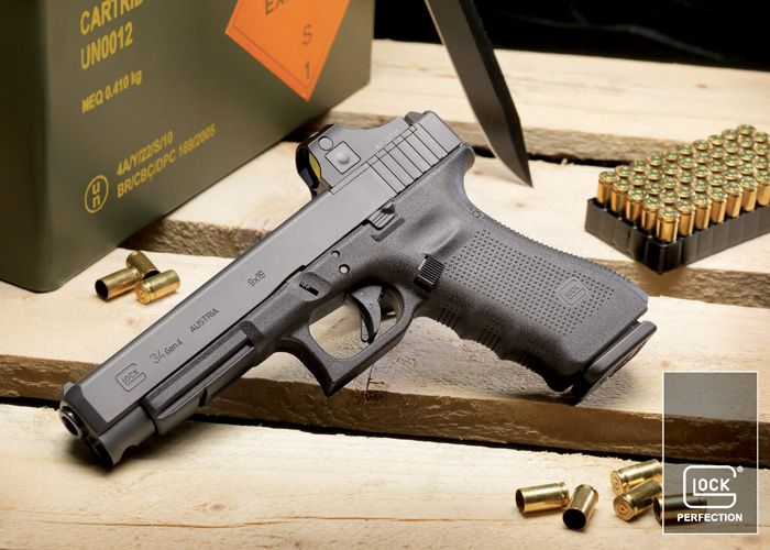 Cybergun Announces Glock Military Licence & Military Markets Department