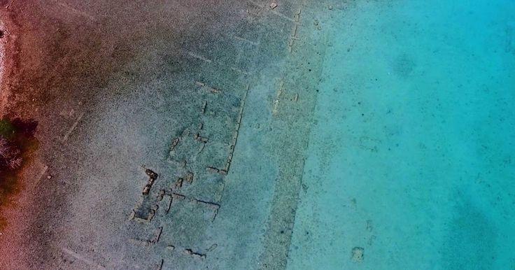 tromaktiko: Μοναδικά πλάνα από βυθισμένη Αρχαία Ελληνική Πόλη [video]