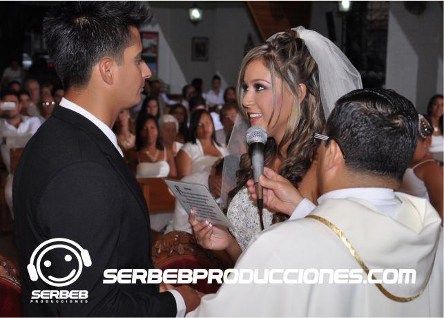 Ceremonia en la Iglesia El sí de la novia
