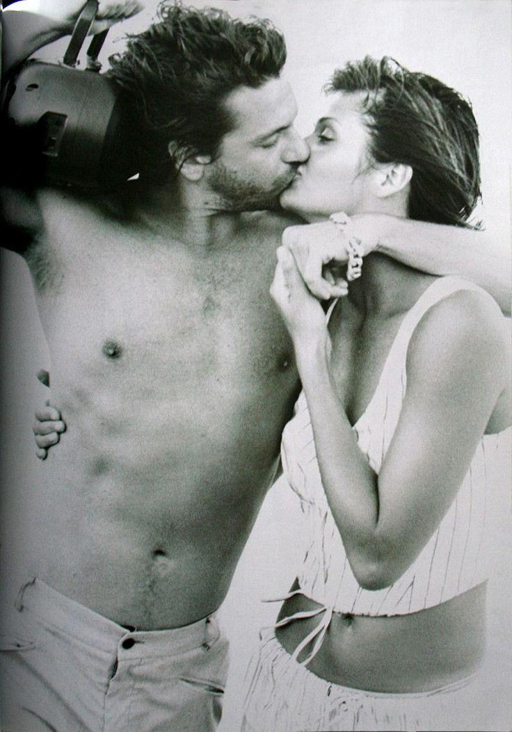 Michael Hutchence & Helena Christensen | Photography by Peter Lindbergh | 1994