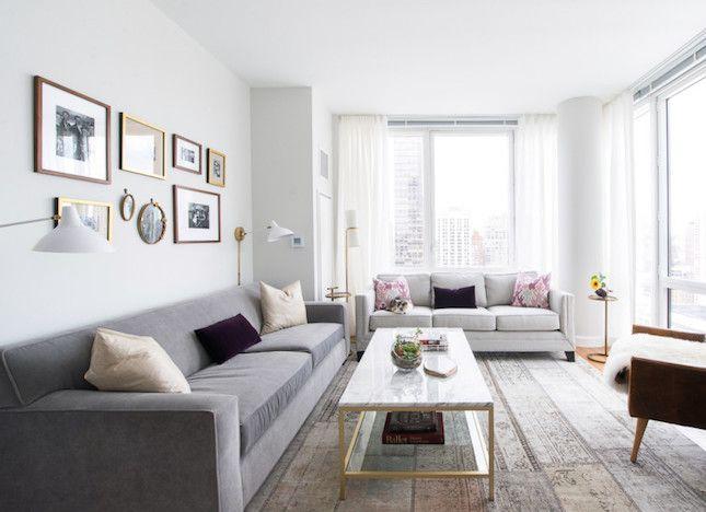 12 Tips for Making Mismatched Furniture Look Chic AF via Brit + Co