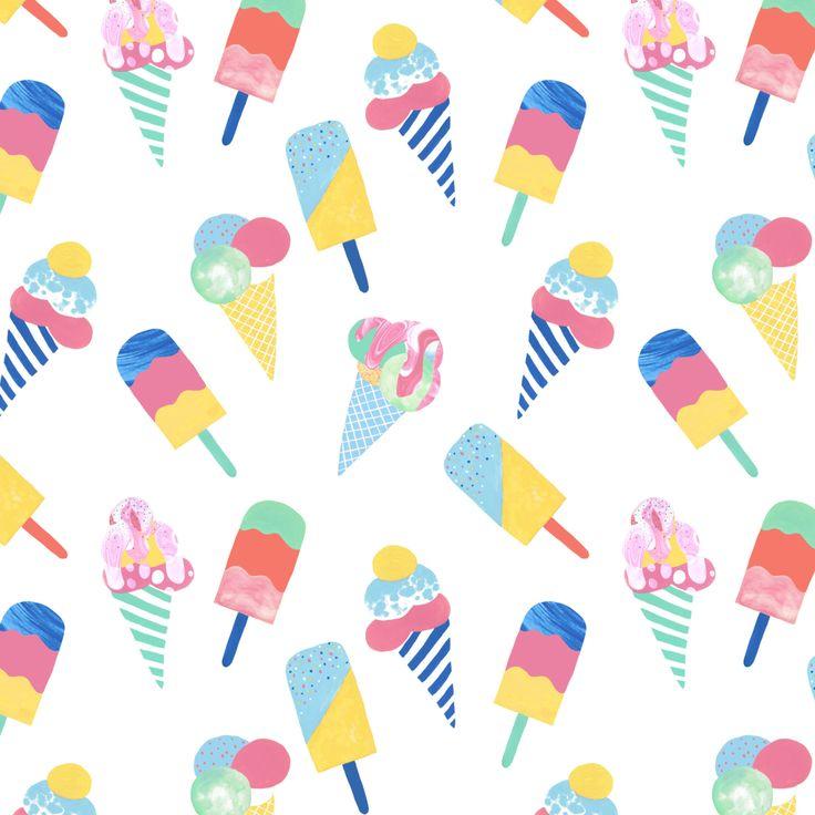 Ice Cream - Designed by Georgie Daphne