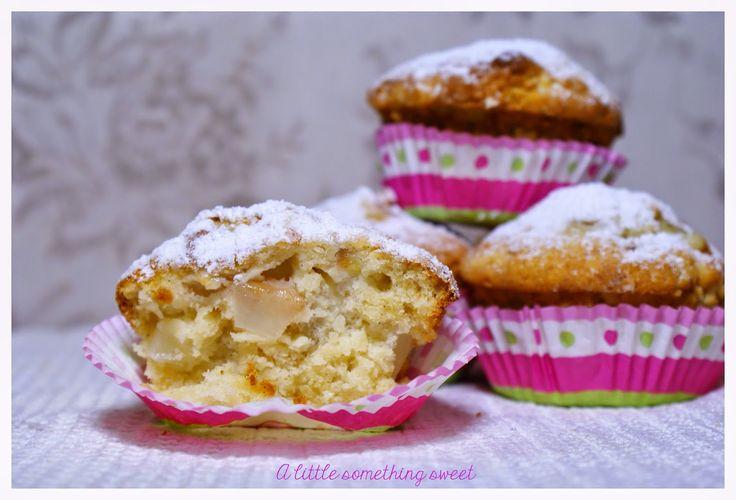 Sekrety Cookietki: Waniliowe muffinki z gruszką