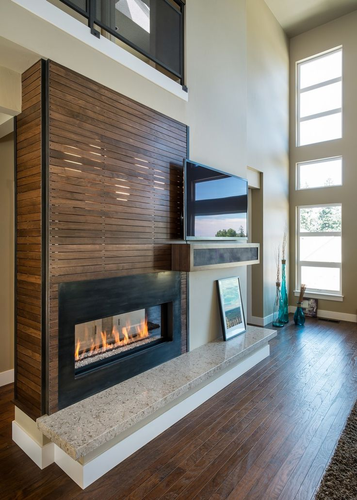 17 Best Ideas About Fireplace Tv Wall On Pinterest Stone
