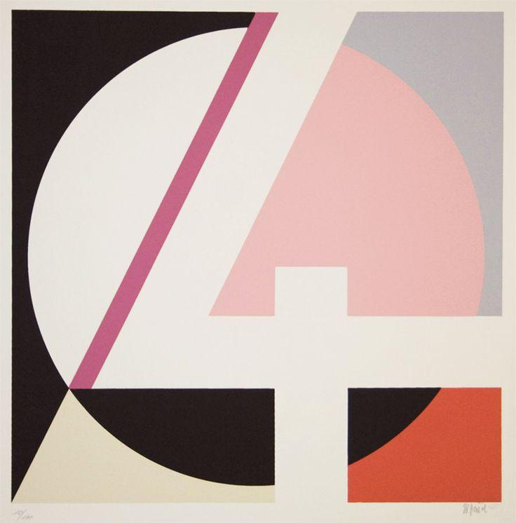 design-is-fine:  Walter Dexel, Untitled, 1970s. Source