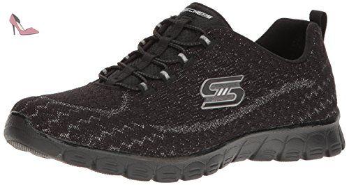 Skechers Trail Dozer, Baskets Basses Garçon, Gris (Char), 35 EU