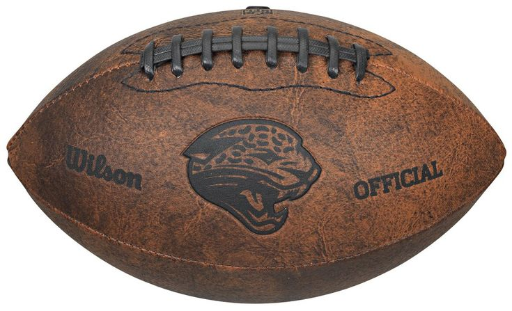 Jacksonville Jaguars Football - Vintage Throwback - 9 Inches