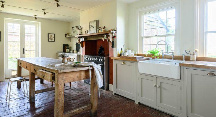 Double butler sink | Lidham Hill Farm | deVOL Kitchens