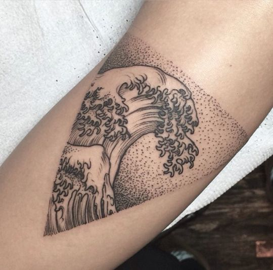 90 Remarkable Wave Tattoo Designs: 58 Best Images About Tattoos On Pinterest