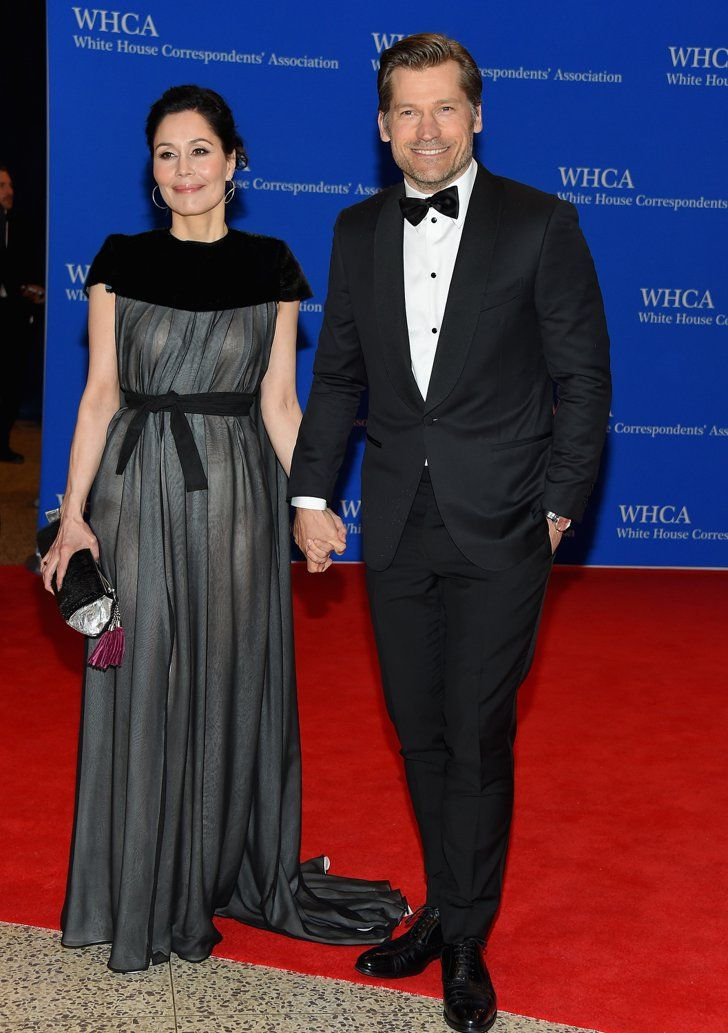 Pin for Later: Stars Have a Ball at the White House Correspondents' Dinner Nukaaka and Nikolaj Coster-Waldau