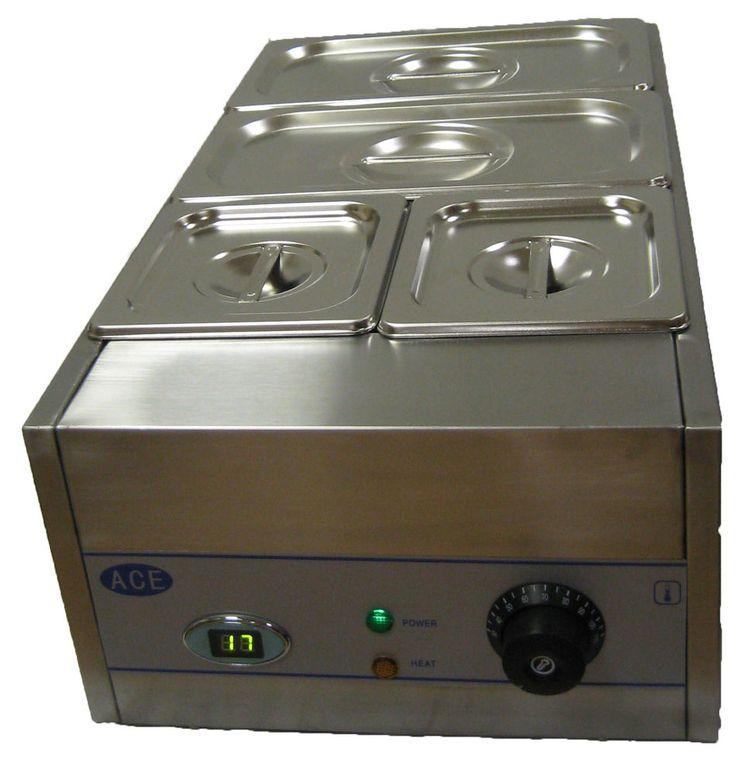 4 POT DRY BAIN MARIE DIGITIAL DISPLAY 2X1/3 2X1/6 GASTRONORMS 150MM DEEP in Business, Office & Industrial, Restaurant & Catering, Kitchen Equipment & Units | eBay