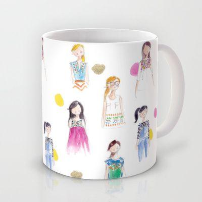 Anthropologie Girls 2 Mug by Sophie & Lili - $15.00