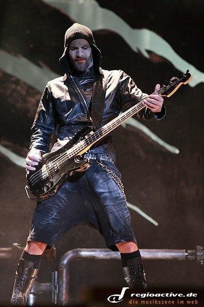 Olli Reidel of Rammstein