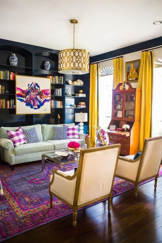 50 Colorful Carpets to Give a Dash of Color to Regular Rooms
