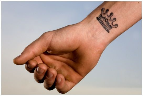 Small Tattoo Ideas For Men KIngs Crown