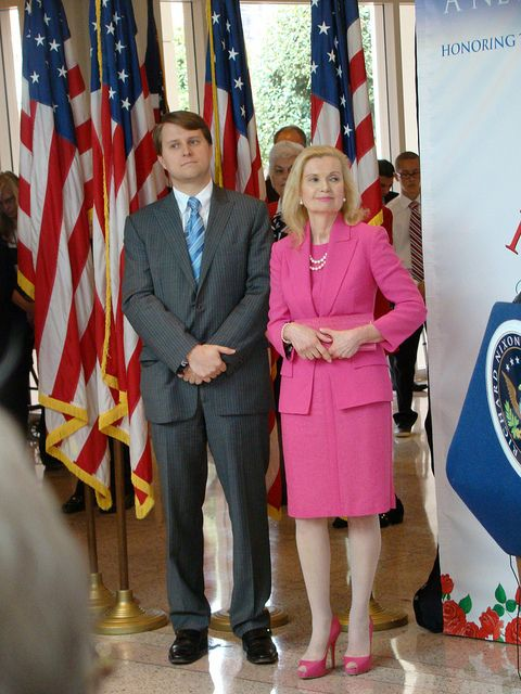 Pat Nixon @100 - First Daughter Tricia Nixon Cox and son. | Flickr - Photo Sharing!