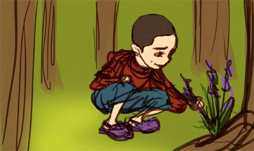 viviena:  Little!Stiles and teen!Derek and awkward poisonous presents x3