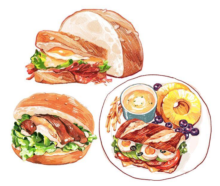 「sandwich」by omiso.