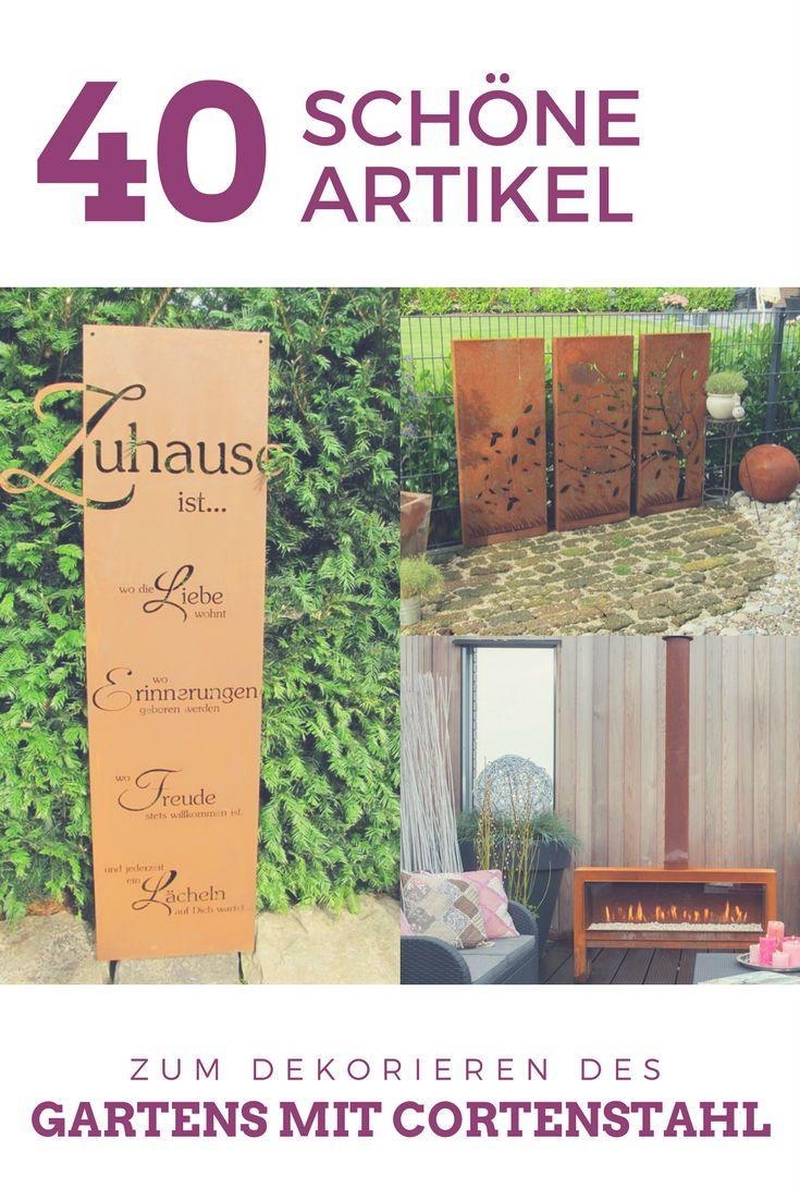 Top 17 Idei Despre Cortenstahl Pe Pinterest | Cur?i Laterale ... Cortenstahl Garten Terrasse Produkte