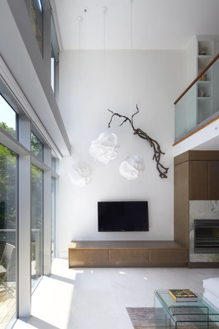 entertainment center done right. Urban Ravine House by Bortolotto Design