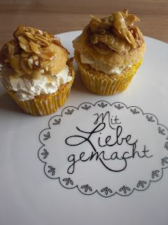 Bienenstichcupcakes