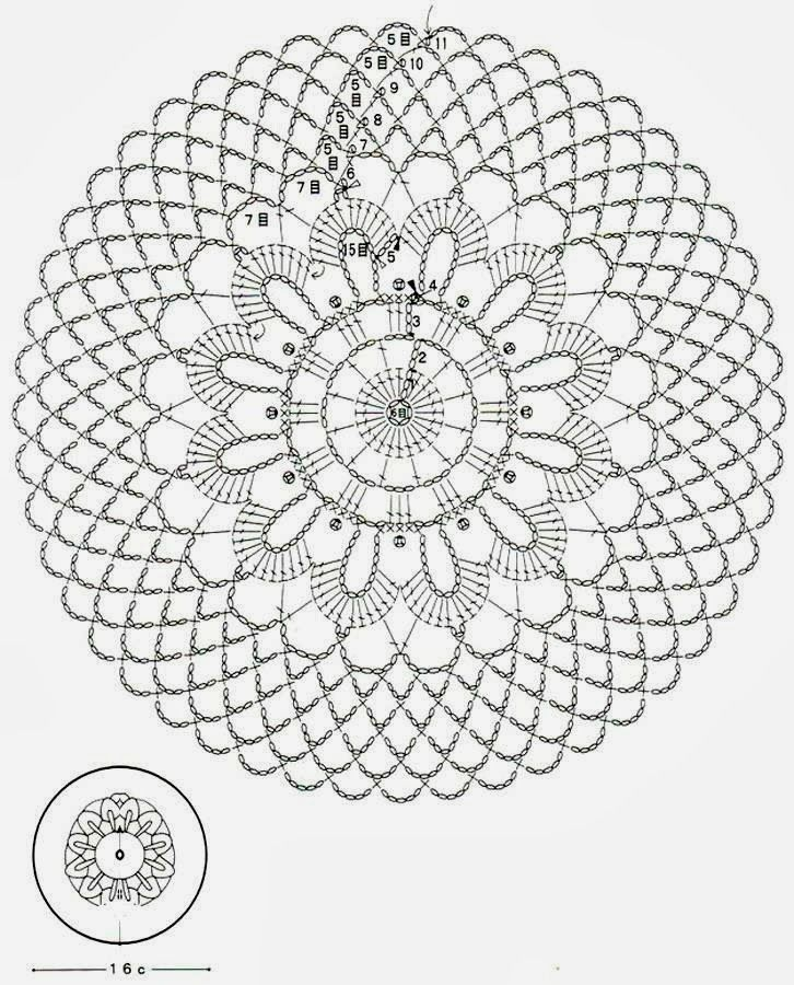 Crochet Art: Crochet Doilies Free Patterns - Beautiful Small Doilies