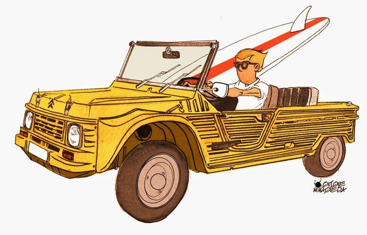 Citroen 1968 Mehari - Quique Maqueda