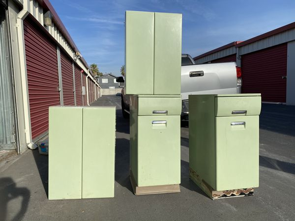 3 Sets Of 1950s Beauty Queen Vintage Cabinets For Sale In Oroville Ca Offerup Cabinets For Sale Vintage Cabinets Cabinet Lighting