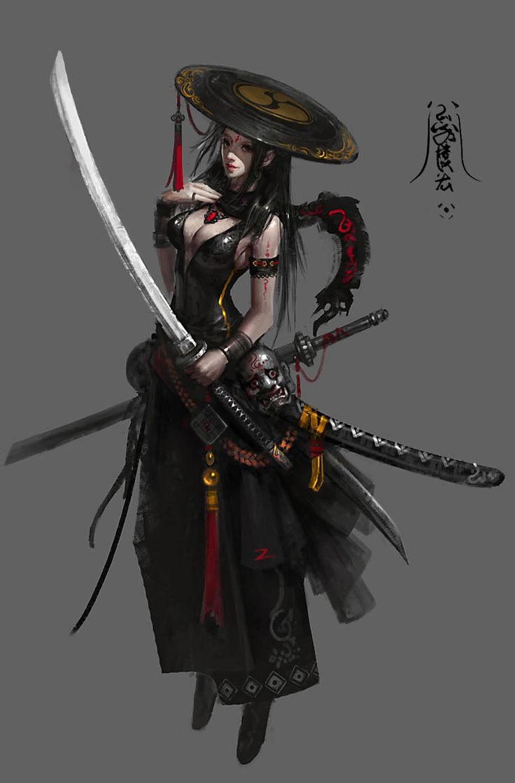 黑衣, sanxian sanxian on ArtStation at https://www.artstation.com/artwork/RD5vE