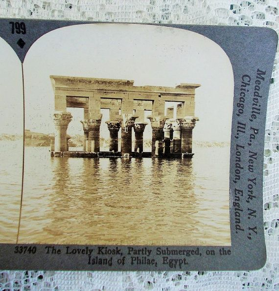 Egypt Stereoview Card Keystone 33740 The by DaysofYoreTreasures
