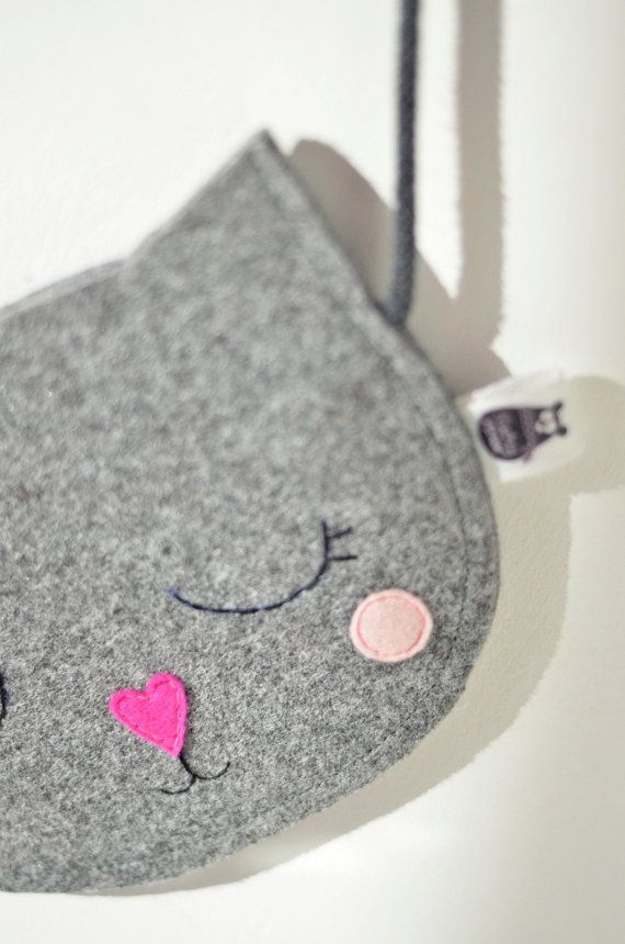 Niños del bolso monedero para niña regalo por SewManUniverseMaster