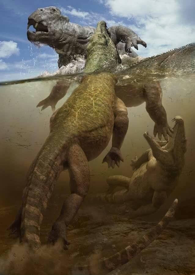 образом картинки прогулки с монстрами жизнь до динозавров дивуар