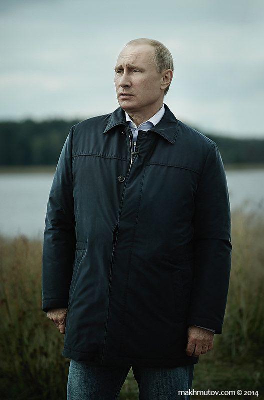 https://flic.kr/p/pmyRxm | Vladimir Putin | President of Russian Federation Vladimir Putin  Portraits of Russian government members from educational forum Seliger 2014.