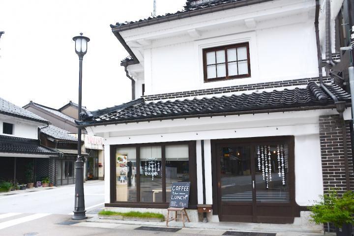 歴史情緒あふれる町並みに溶け込む古民家カフェ。富山・高岡「コンマ,コーヒースタンド」 ことりっぷ