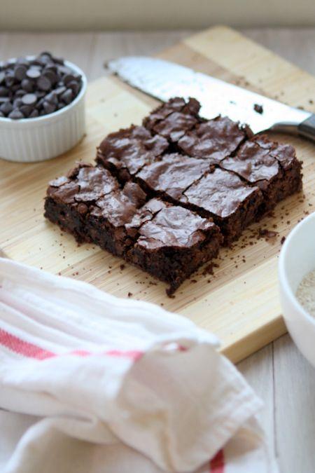 Oat Flour Brownies (Gluten Free!)