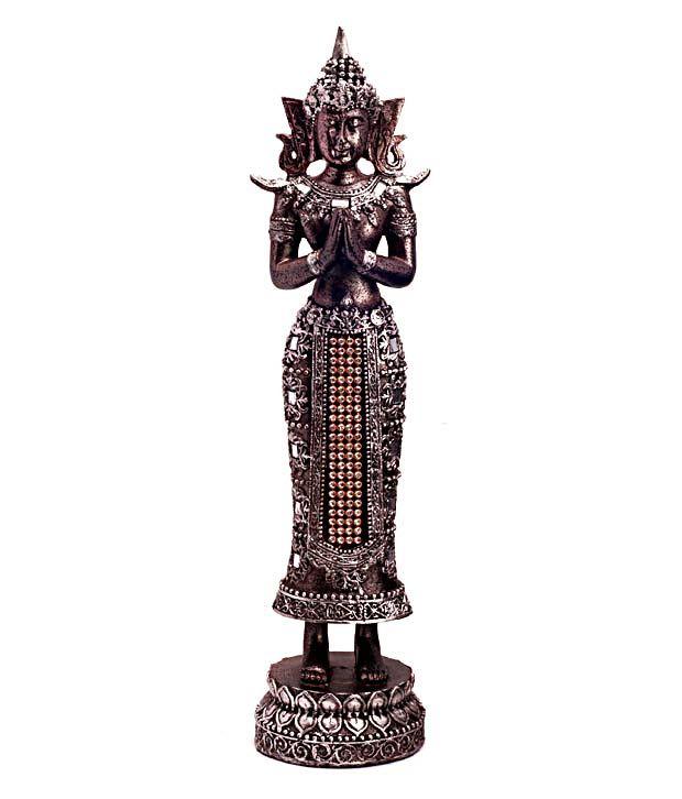 Cosmos Galaxy Polyresin Lord Buddha Idol