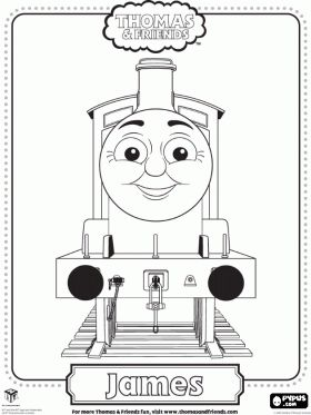 Thomas the Train Face Printables | Thomas and Friends coloring pages