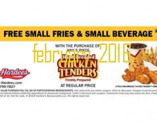 Free Printable Coupons: Hardees Coupons