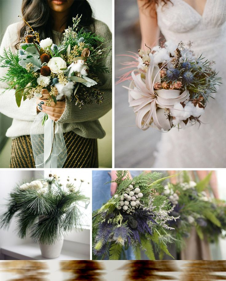 4 Of The Best White Winter Wedding Themes Wedding Ideas: Best 25+ Winter Bridal Bouquets Ideas On Pinterest