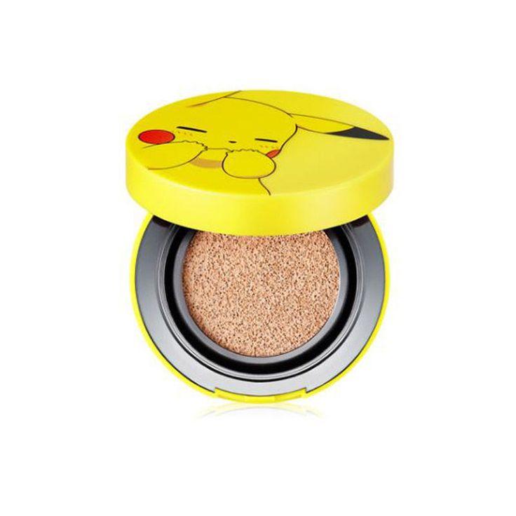 [Hot] Pokemon x Tonymoly Special Edition Pikachu Mini Cover Cushion 9g #TONYMOLY