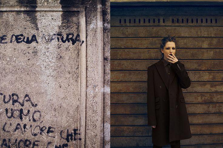 Un Cappotto da Ragazzo. MISHMASH Fashion Magazine editorial 2015